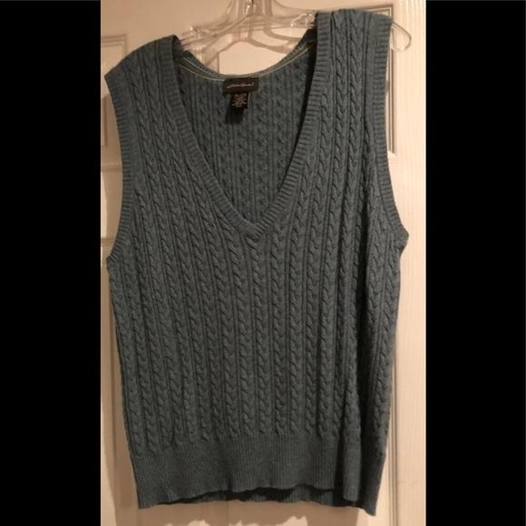 Eddie Bauer Sweaters Womens Sweater Vest Plus Size Poshmark